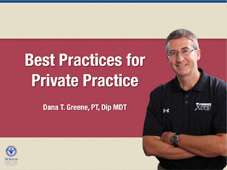 """BEST PRACTICES"" For McKenzie Driven Private Practices"